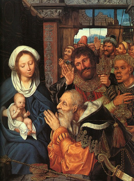 Adoration of the Magi. Quentin Massys