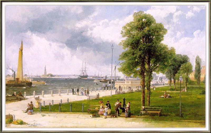 Melrose New-York-Harbor-and-the-Battery-sj. Melrose