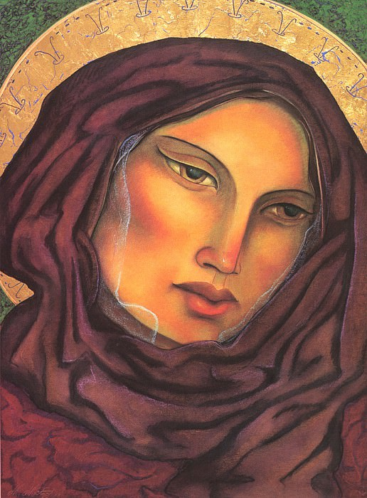 Our Lady of the Rosary. Miguel Martinez