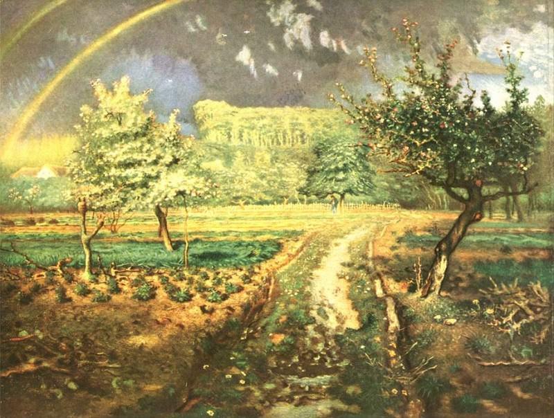 Le printemps. Jean-François Millet