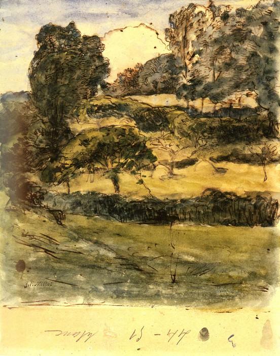 Выпасы в Нормандии. Жан-Франсуа Милле
