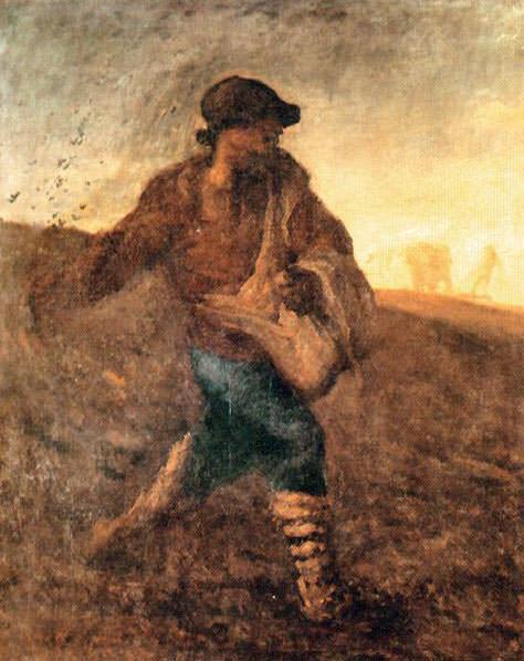 The Sower. Jean-François Millet