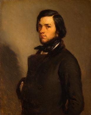 Portrait of a Man. Jean-François Millet