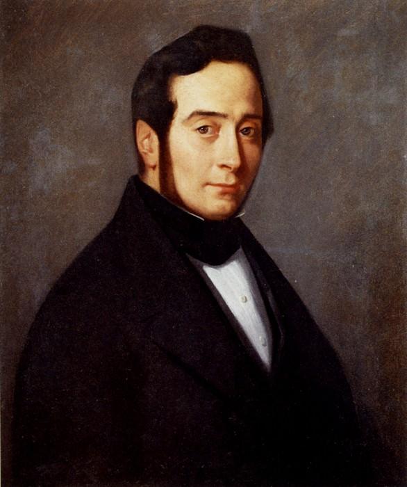 Portrait Of Eugene Canoville. Jean-François Millet
