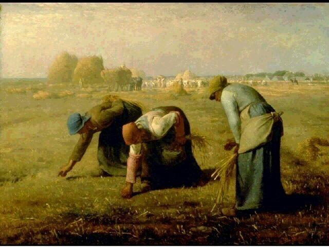 Сборщицы колосков. Жан-Франсуа Милле