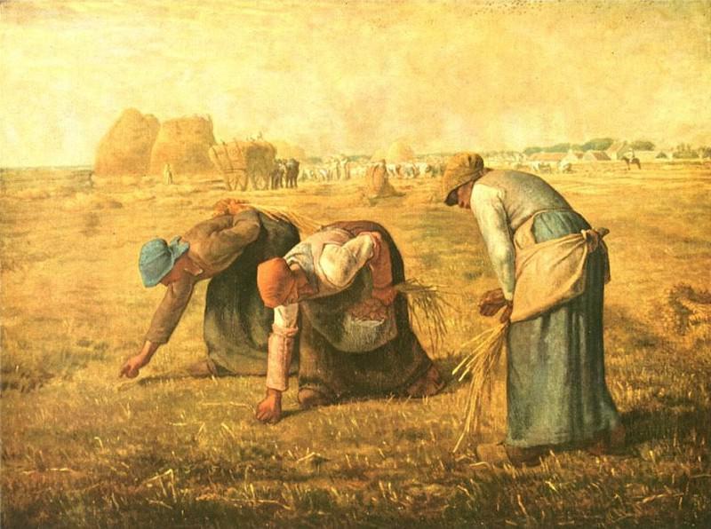 Les glaneuses. Jean-François Millet