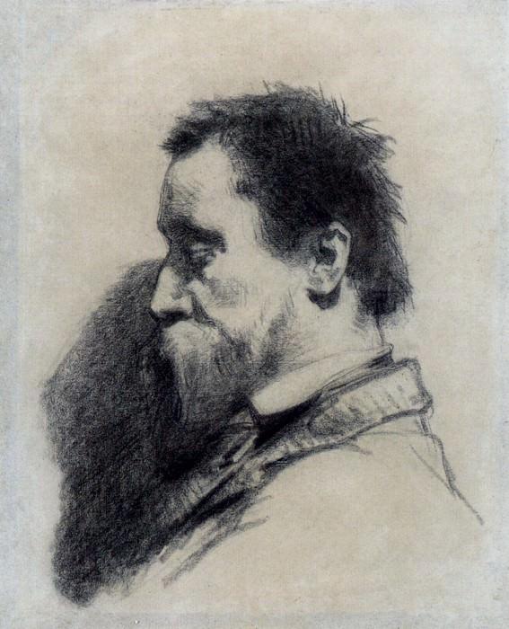 Portrait Of A Man Said To Be Leopold Desbrosses. Jean-François Millet