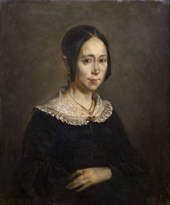 Madame Frigot. Jean-François Millet