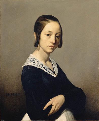 Луиза Антуанетта Фёрдан. Жан-Франсуа Милле
