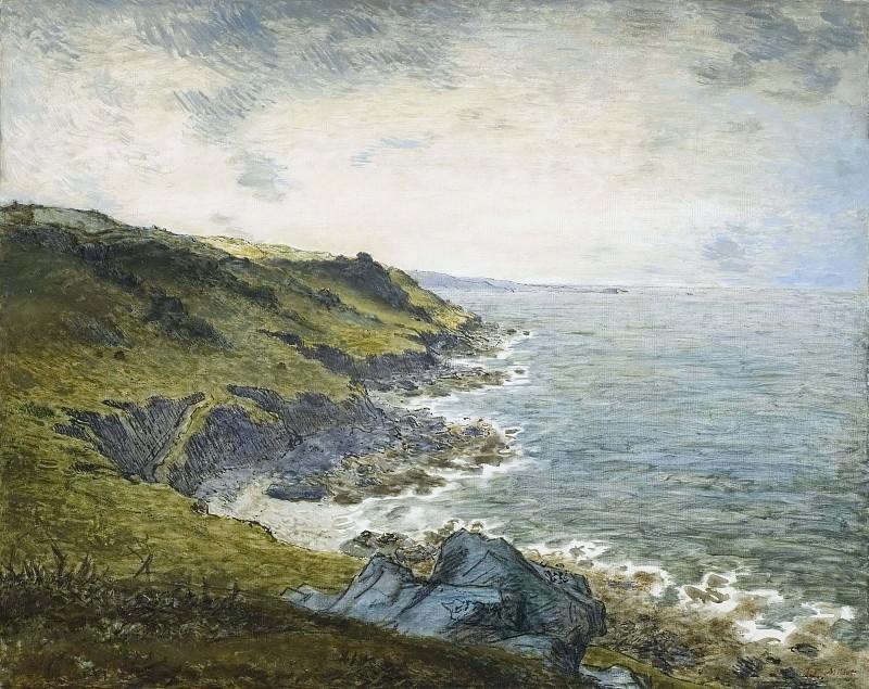 The Coast at Gréville. Jean-François Millet
