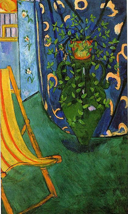 Уголок мастерской, 1912. Анри Матисс