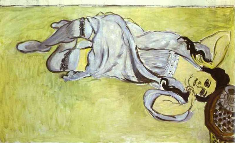Laurette with a Coffee Cup. Henri Matisse