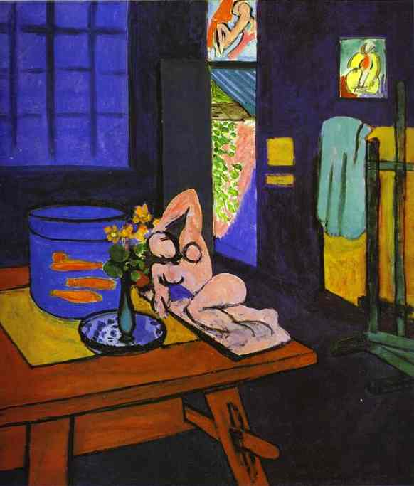 Red Fish in Interior. Henri Matisse