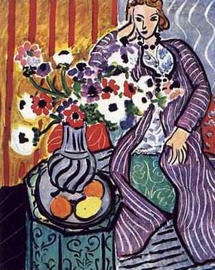 Женщина в халате. Анри Матисс