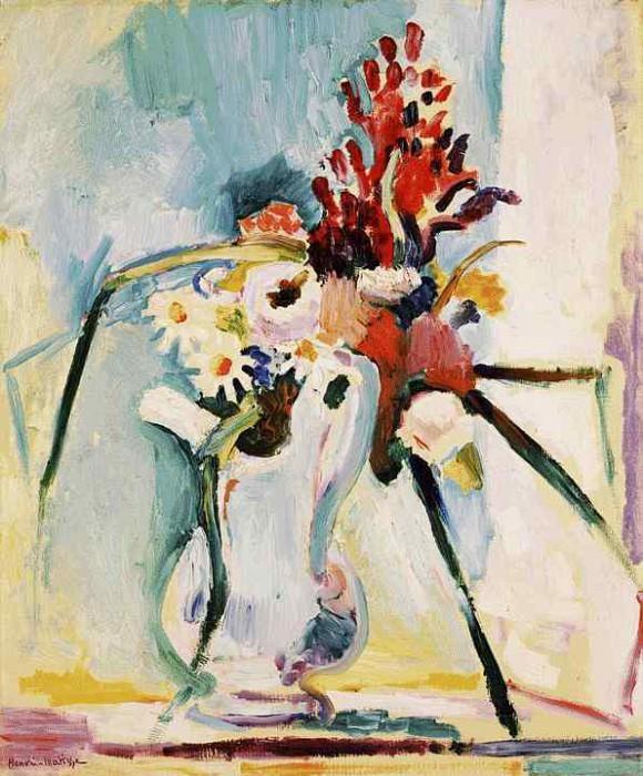 Цветы в кувшине, 1906. Анри Матисс
