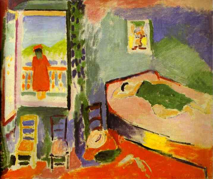 Interior at Collioure. Henri Matisse