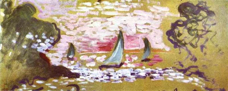 Les voiliers. Henri Matisse