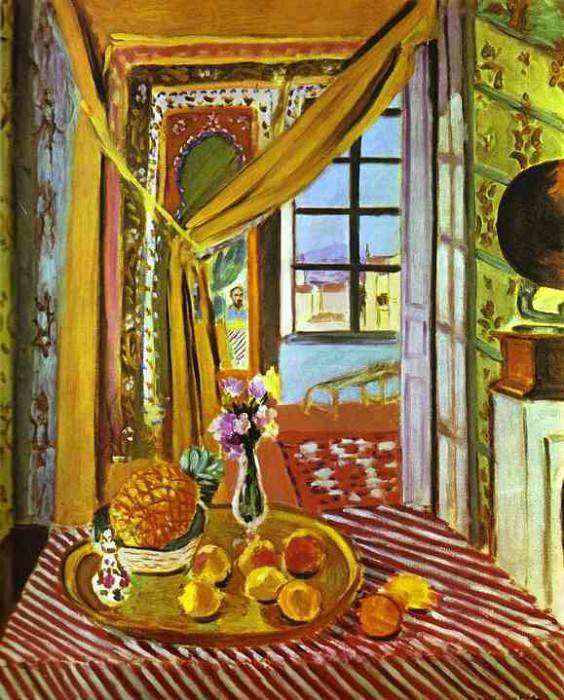Interior with Phonograph. Henri Matisse