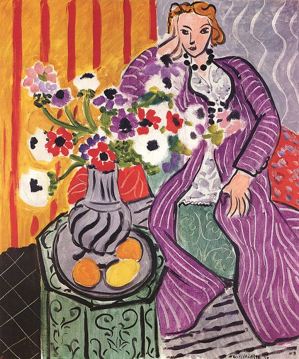 The Purple Robe. Henri Matisse