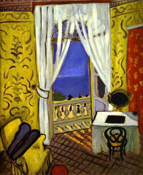 Interior with a Violin Case. Henri Matisse