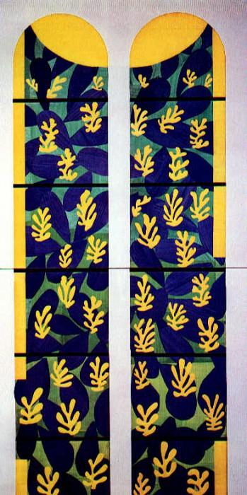 LArbre de Vie (1949), Vatican museum. Henri Matisse
