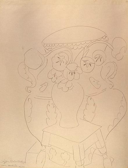 Натюрморт с двумя вазами, 1940. Анри Матисс