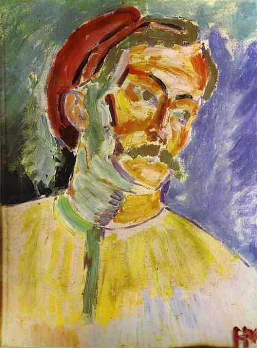 Portrait of Andre Derain. Henri Matisse
