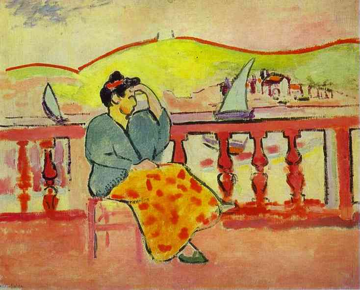 Lady on the Terrace. Henri Matisse
