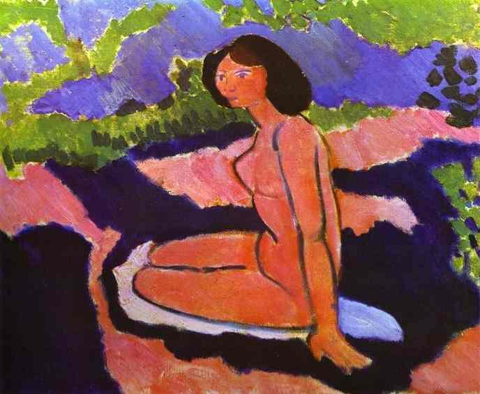 A Sitting Nude. Henri Matisse