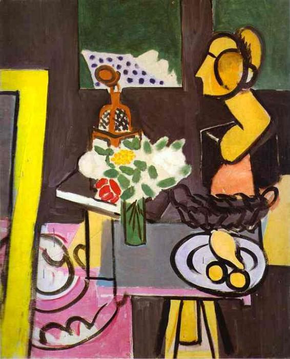 Nature morte aux coloquintes. Henri Matisse