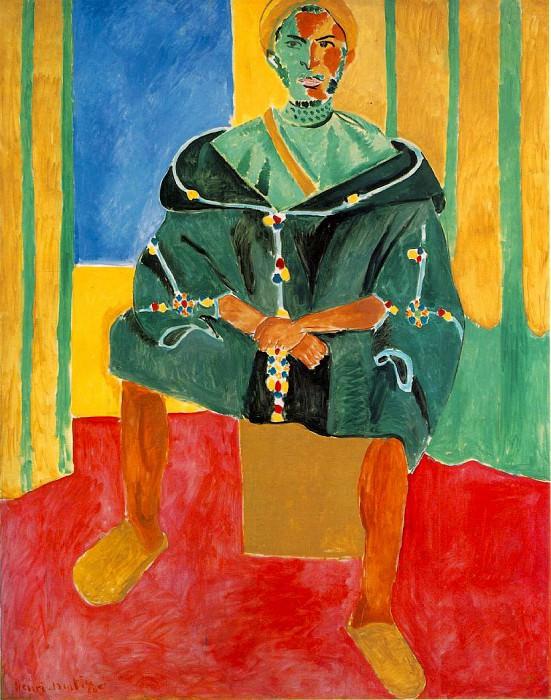 Seated Riffian (Le Rifain assis), 1912 eller 1913. Henri Matisse