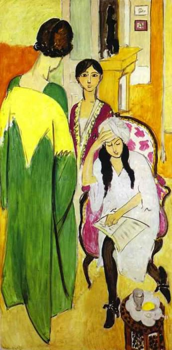 Three Sisters. Henri Matisse