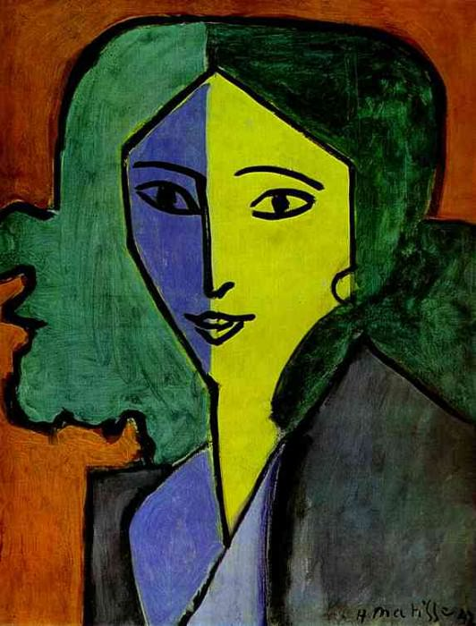 Portrait of Lydia Delectorskaya, the Artists Secretary. Henri Matisse