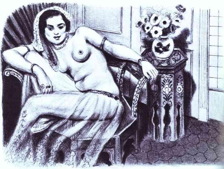 Odalisque in a Gauze Skirt. Henri Matisse