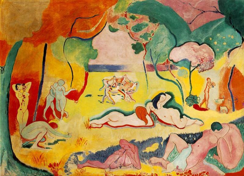 Le bonheur de vivre (The Joy of Life), 1905-1906, 17. Henri Matisse