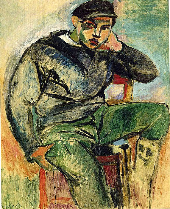 Молодой моряк, 1906. Анри Матисс