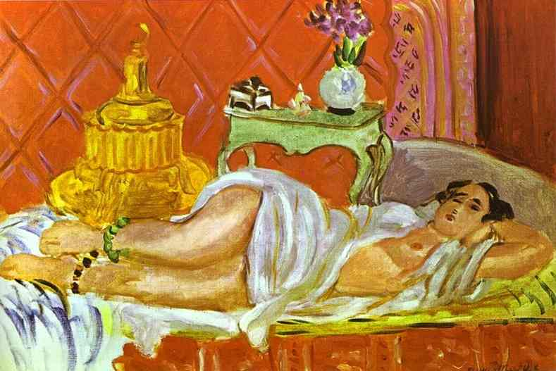 Odalisque, Harmony in Red. Henri Matisse