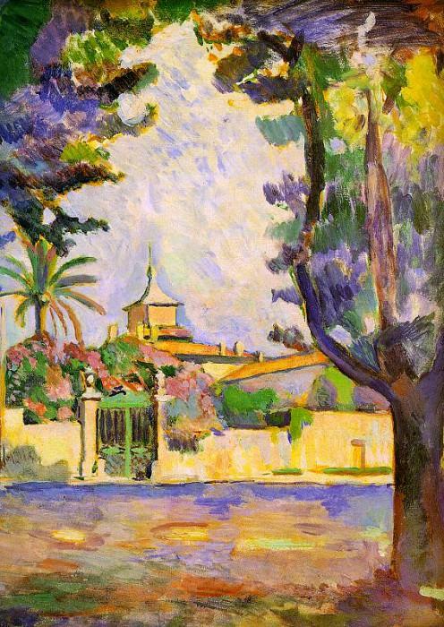 Place des Lices, St. Tropez, 1904, oil on canvas, St. Henri Matisse