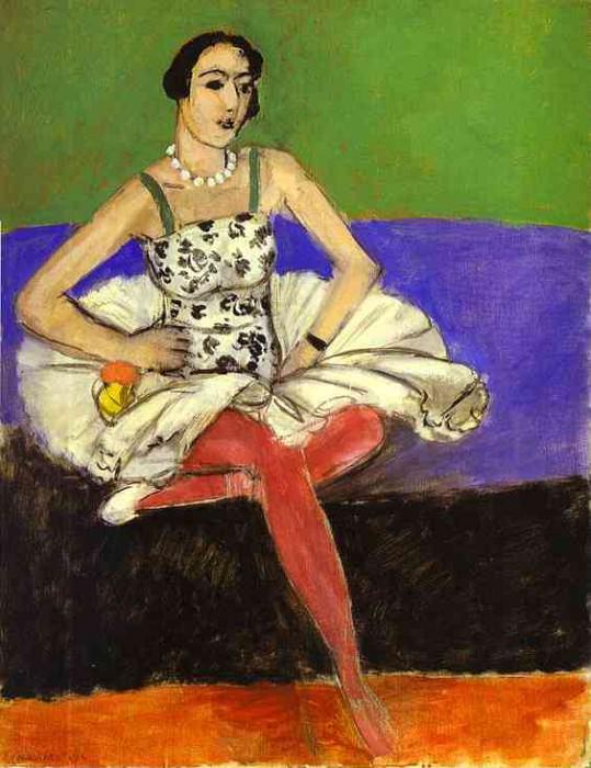 The Ballet Dancer. La danseuse. Henri Matisse