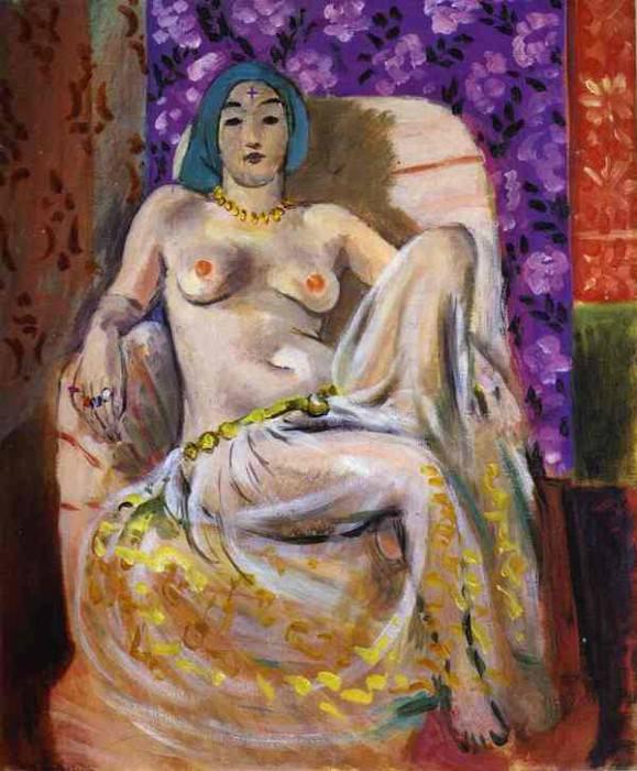 Le genou leve. Henri Matisse