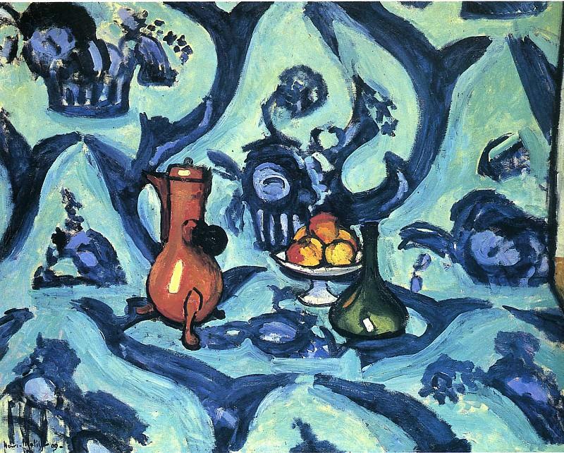 Голубая скатерть, 1907. Анри Матисс