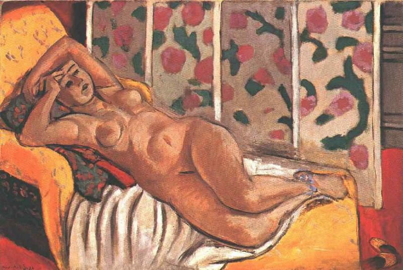 Yellow odalisque, 1926, National Gallery of Canada,. Henri Matisse