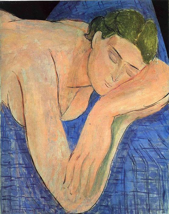 Сон, 1935. Анри Матисс