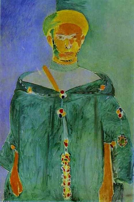 The Moroccan in Green. Henri Matisse