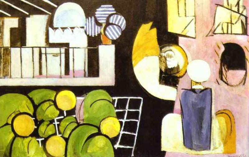 The Moroccans. Henri Matisse
