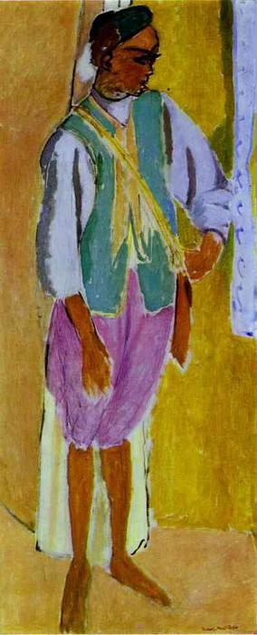 The Moroccan Amido. Henri Matisse