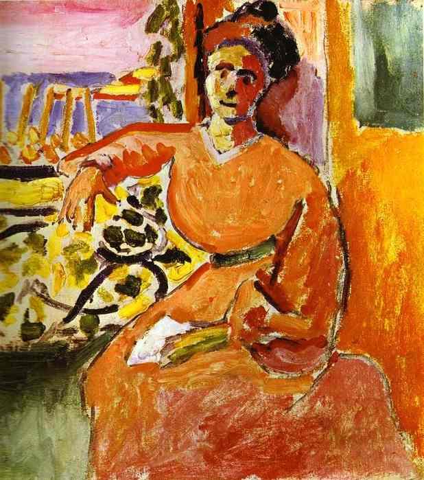 Женщина у окна, 1905. Анри Матисс