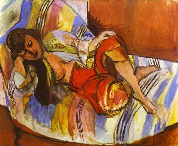 Odalisque. Henri Matisse