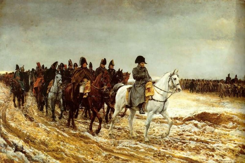 The French Campaign 1861. Jean-Louis Ernest Meissonier