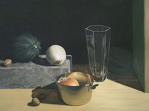 Vase and Squash. Linda Mann